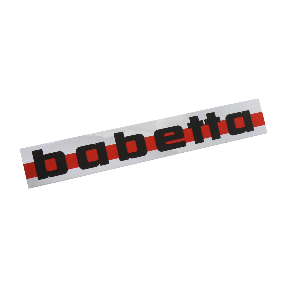 Sticker of fuel tank - Babetta 207