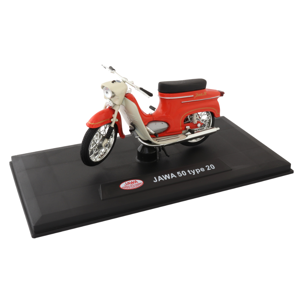Model JAWA 50 type 20 1:18, LIGHT RED