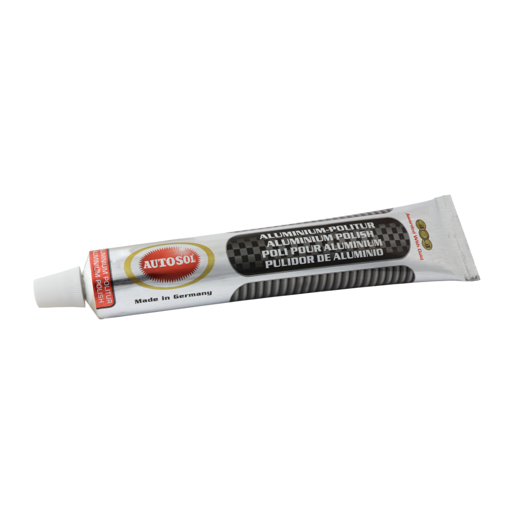 AUTOSOL ALUMINIUM POLISH - Polishing paste for aluminum 75ml