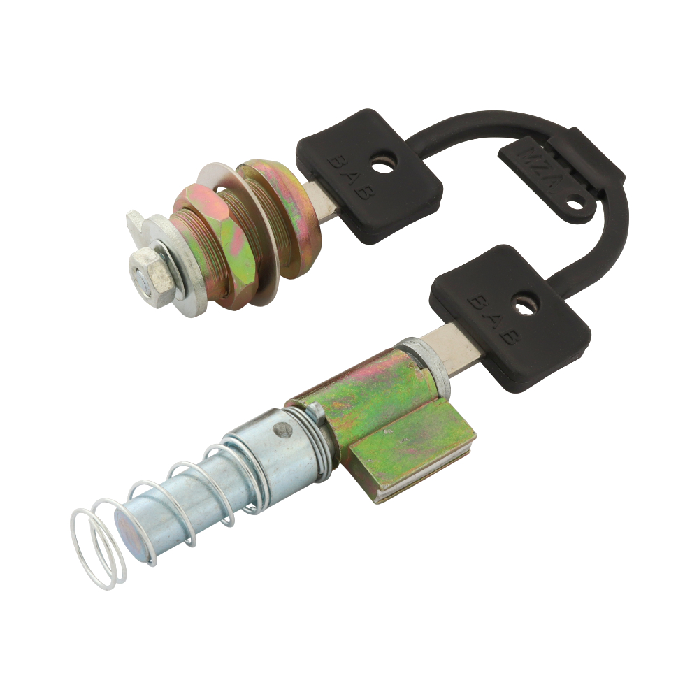 Steering + Clipboard lock set (MZA) - Simson S51, S70