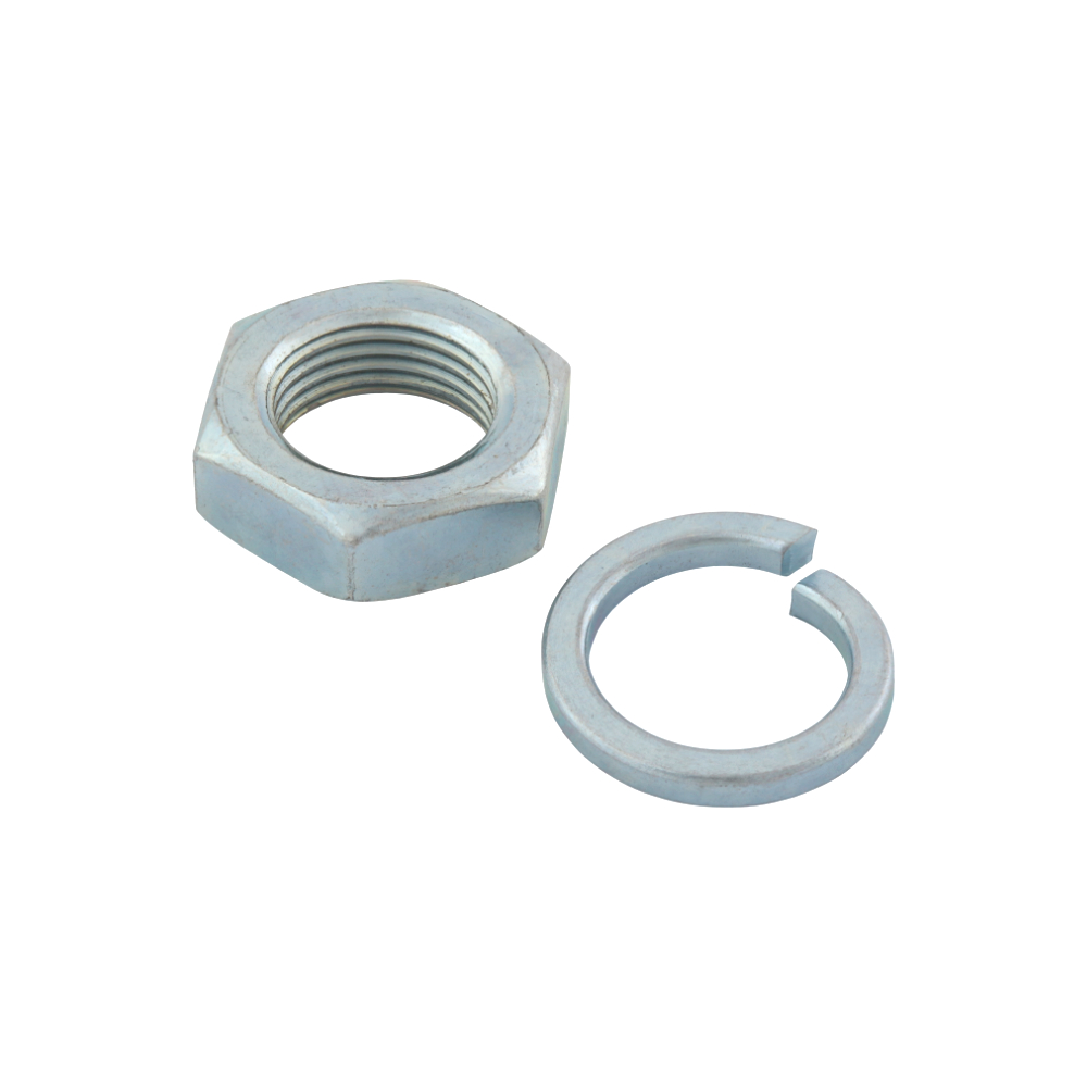 Primary wheel nut 18x1,5 (narrow) with spring washer - JAWA, ČZ