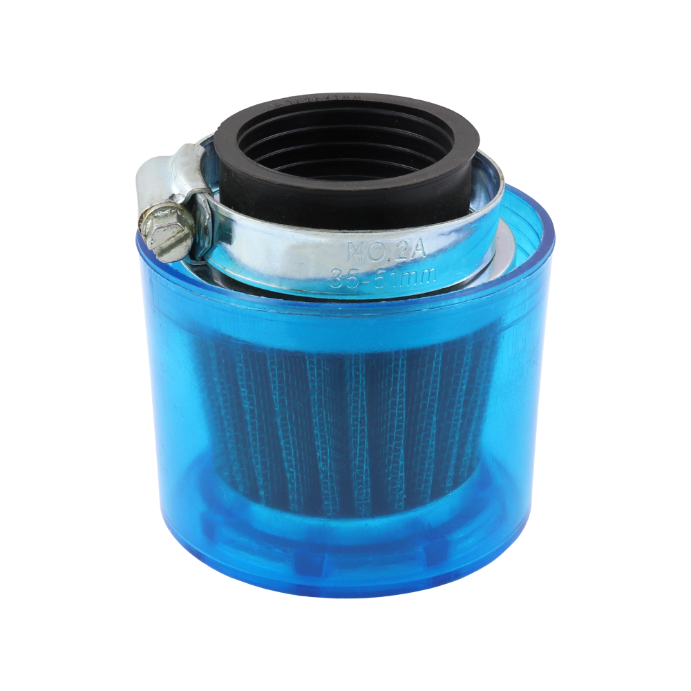 "Suction filter D38 ""Sport"" (covered, small, straight) - UNI, JAWA 350 638-640"