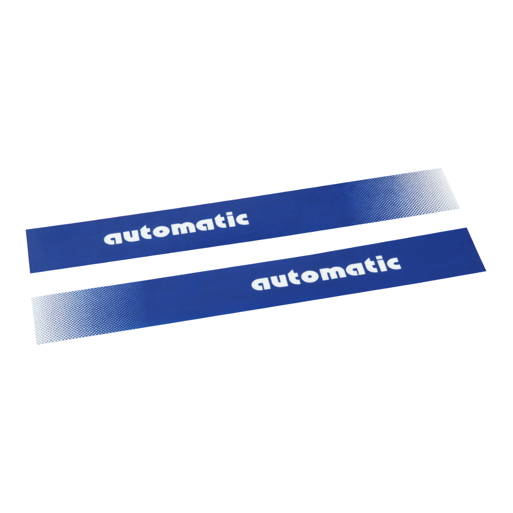 "Stickers ""automatic"", BLUE (2 pcs) - Manet Korado"