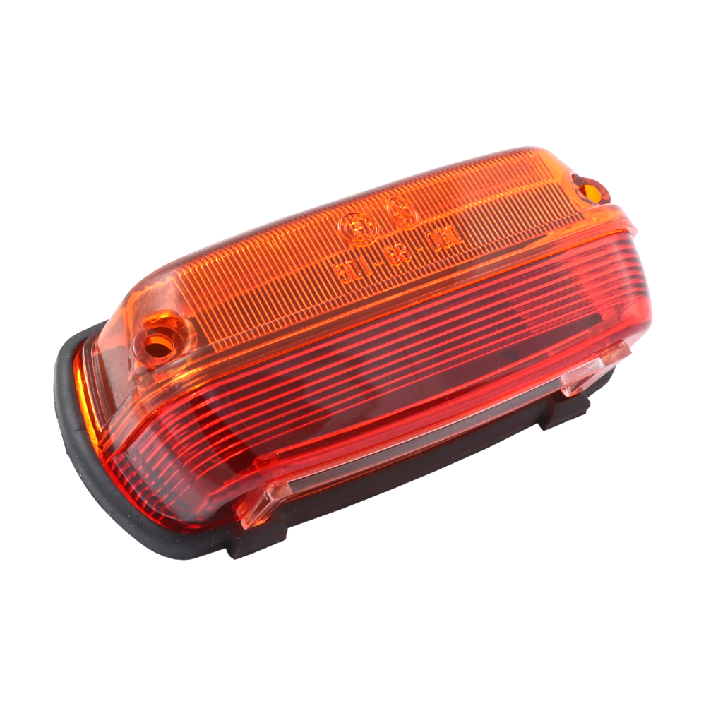 Cover of rear light with rubber, ORANGE-RED (SK) - ČZ 450-475, PAV 40