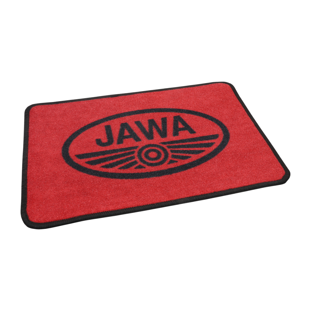 Doormat (60x40cm) RED-BLACK - JAWA