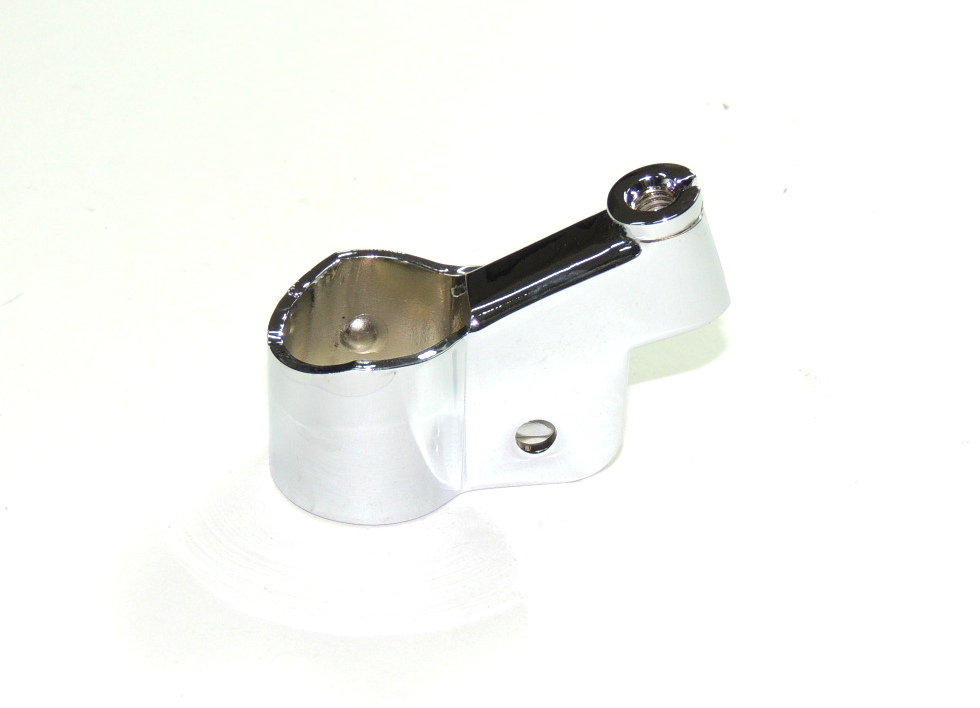 Sleeve of lever -LEFT-with thread-CHROME