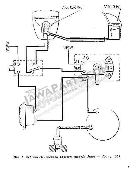 Jawa 250 Wiring Diagram