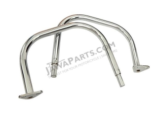 Handles, REAR L+R CHROME (CZ) - JAWA 350 638-639