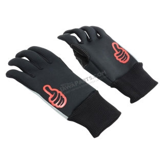 Gloves (M), SAN MARINO WINTER, MOTO ONE - MEN'S (BLACK)
