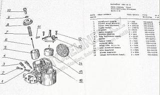 Ilustration of Carburettor S22-not for sale