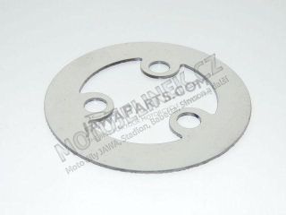 Clutch plate, SHEET METAL - JAWA Panelka, 634