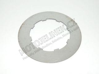 Clutch plate, SHEET METAL (reduction, unoriginal) - JAWA 6V