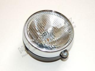 Headlamp front, round (replacement) - Babetta 210