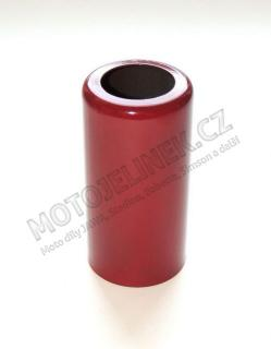 Cover of REAR shock-absorber  - upper Jawa,CZ-red