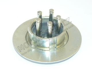 Clutch plate fixed-basket Jawa 05,20-23