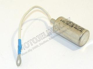 Capacitor with mesh