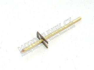 Float needle with fuse 555