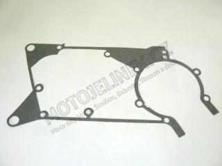Gasket of engine block Simson.