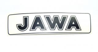 Sticker Jawa-black 2pcs