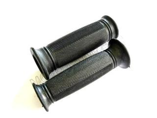 Grip rubber of handlebars -JAWA-kegs/pair/BLACK