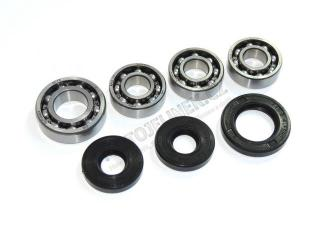 Set of engine bearings-simmerrings J550-555
