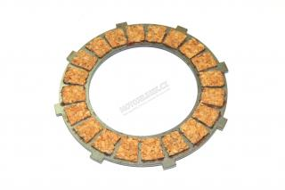 Clutch plate, CORK (external toothing) - JAWA Panelka, 634