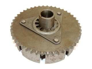 Wheel of clutch chain, bare, single row - Panelka