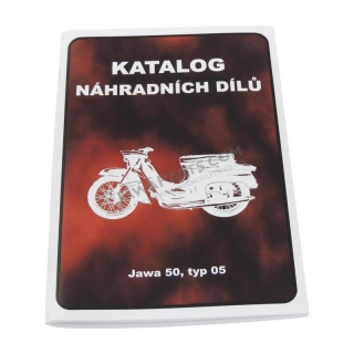 Catalog of spare parts - JAWA 50 05