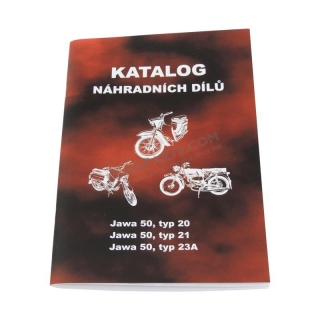 Catalog of spare parts - JAWA 50 20,21-23