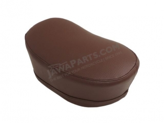 Seat, DARK BROWN - JAWA 50 555