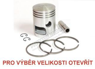 Piston set 58,25-LEFT- tenon 16-Jawa 350