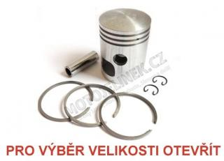 Piston set 58,25-RIGHT- tenon 16-Jawa 350