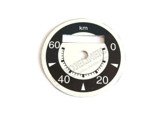 Speedometer dial 60km-Stadion