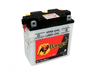 Battery Battery Banner BIKE BULL 6V 11Ah (6N11A-3A)