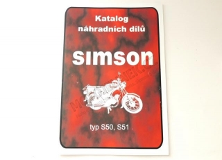 Catalog of spare parts -Simson S50,S51