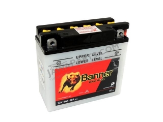 Battery  Banner BIKE BULL 12V 6Ah (12N5.5-3B)