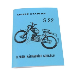 Catalog of spare parts - Stadion S22