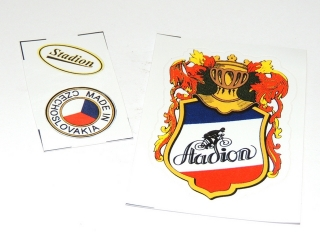 Stickers set - Stadion - RED