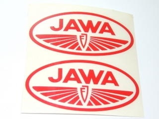 Sticker Jawa-FJ - Oval 2pc