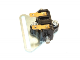 Brake light switch with holder