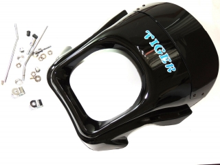 Mask of front lamp - bare - Jawa, MZ