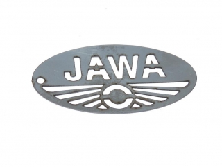 Plate JAWA - stainless steel (6,2cm)