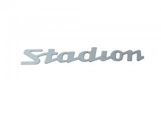 Plate  Stadion - stainless steel