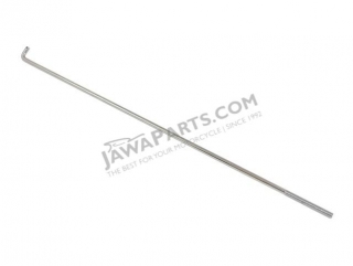Rod of rear brake CHROME, bare - JAWA 50 550