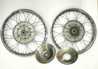 Set of wheels - front and back - Kyvacka