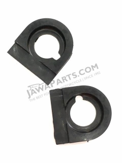 Bushings for handlebar (Left+Right) - JAWA, ČZ