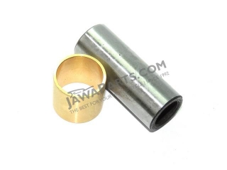 Piston pin with bushing 18x46mm - CZ 125,175