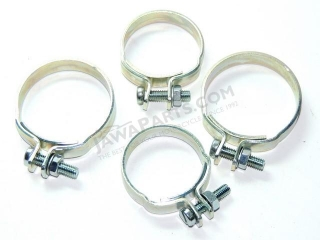 Set of sleeves cuffs for telescope - zinc CZ 125 / 150C