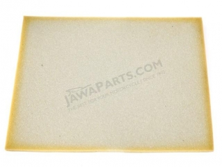 Foam plastic of filter 40x30, BEIGE - UNI