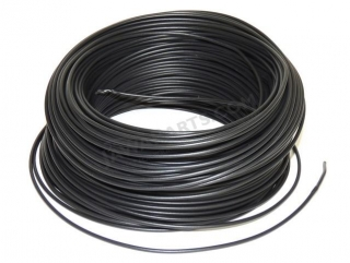 Cable 1.5 mm - BLACK (price per meter)